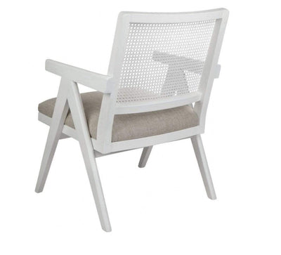 The Imperial Rattan Armchair - White
