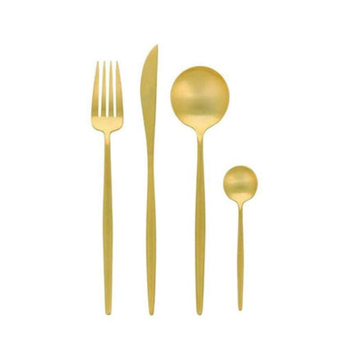 Coco Gold Cutlery Set