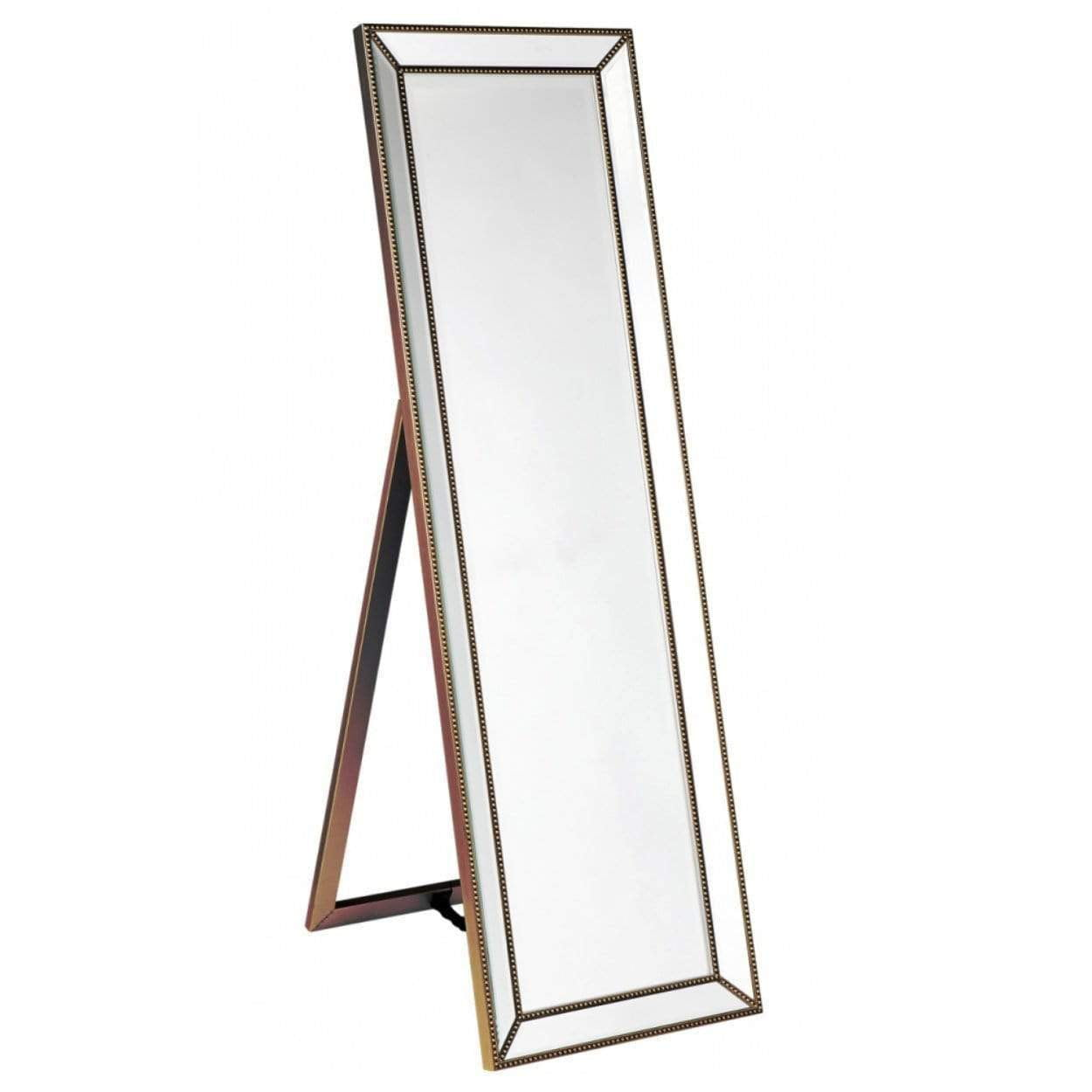Zeta Gold Cheval Mirror | Saphire Wall Mirror | Attica Home | Luxury Furniture Sydney