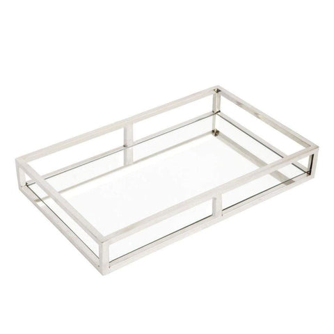 Chrome Hollywood Tray | Home Bar accessories