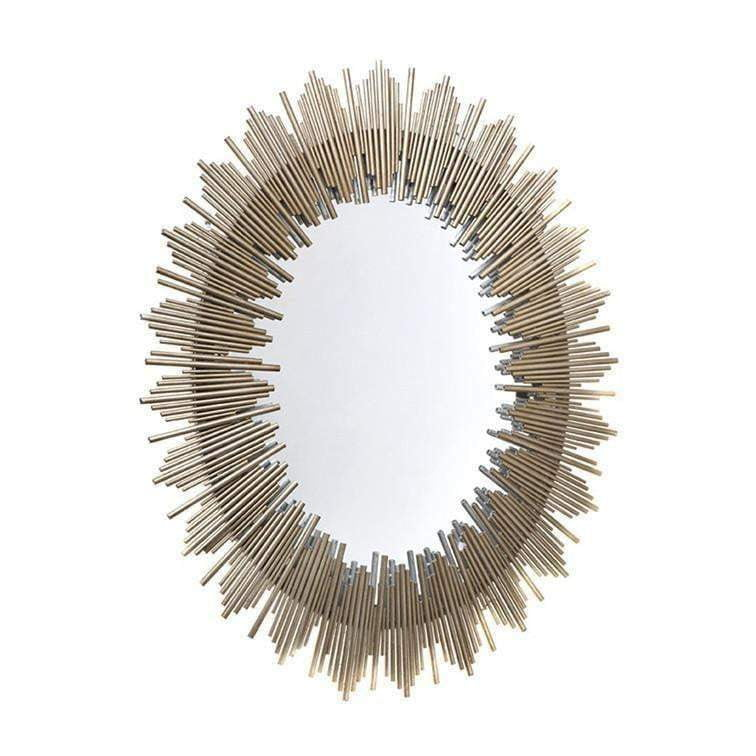 Franklin Sunburst Mirror | Gold Mirrors | Luxury Furniture Sydney