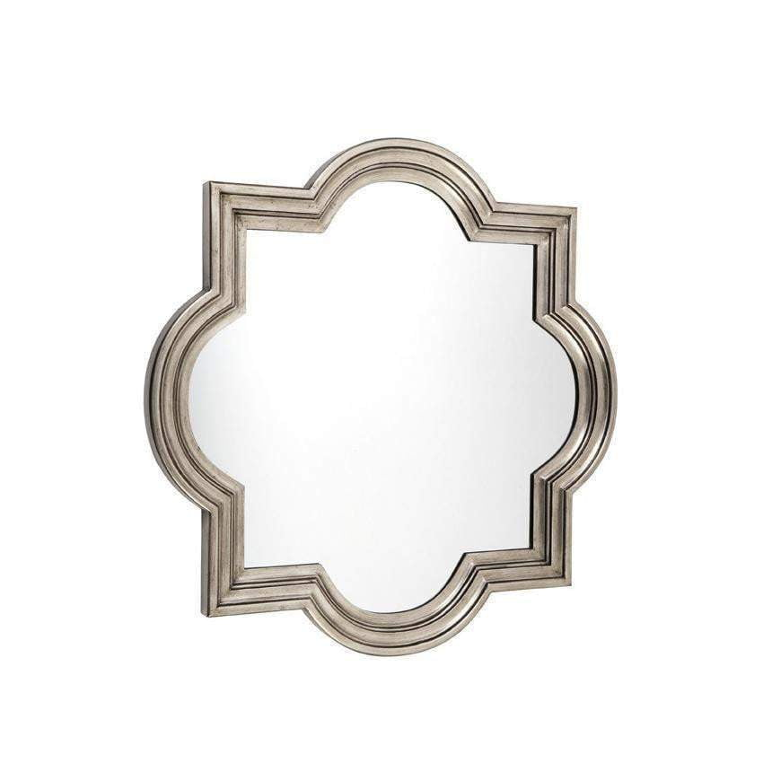 Marrakech Silver Wall Mirror - Small | Attica Home | Luxury Furniture Sydney