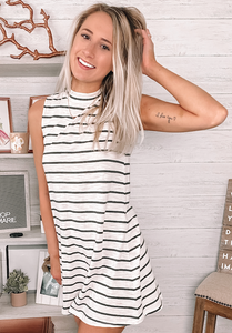 The Selma Stripe Dress