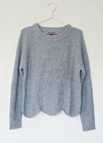 The Bailey Scalloped Sweater