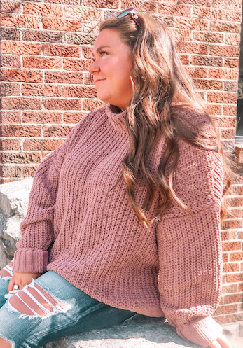 The Courtney Yarn Knit Sweater