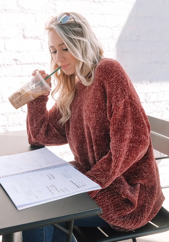 The Velvet Yarn Knit Sweater