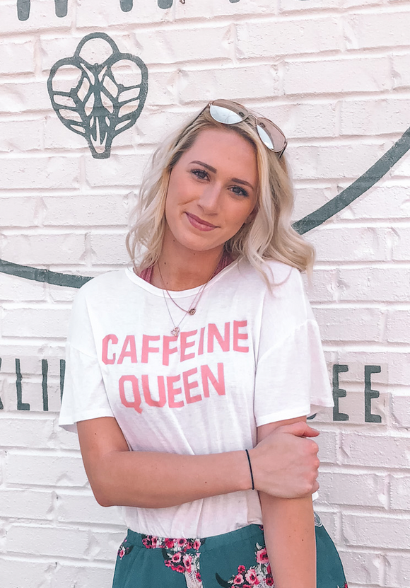 The Caffeine Queen Tee