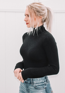 The Ribbed Night Top