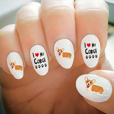 Introducing NEW Corgi Nail Art Etsy Partner: Risa's Pieces