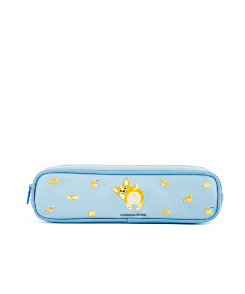 Corgi Long Pencil Case