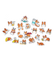 Corgi Line sticker set 2 for corgi dog owners, corgi dog lovers, corgi puppies, welsh corgi, pembroke welsh corgi