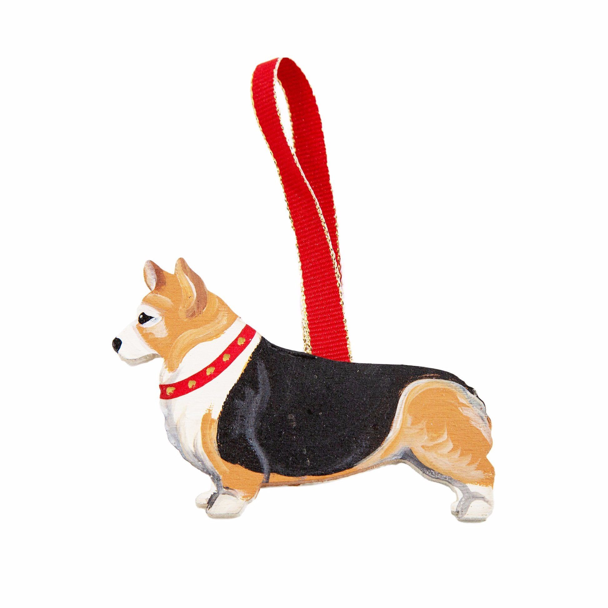 Crafted Original Corgi Breed Christmas Ornament BY Dandy Design