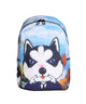 Artistic Husky Backpack