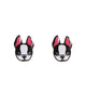 Stylish Frenchie Plastic Ear Studs
