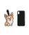 Super Cute Corgi Shape Luggage Tag 2.0