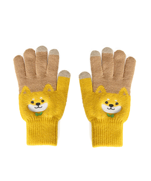 Warm Corgi Gloves