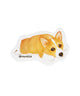 Smoothie Sticker - NAYOTHECORGI - Corgi Gifts -Corgi Gift