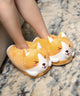 Warm and Cute Winking Corgi Slippers/Costume - one size