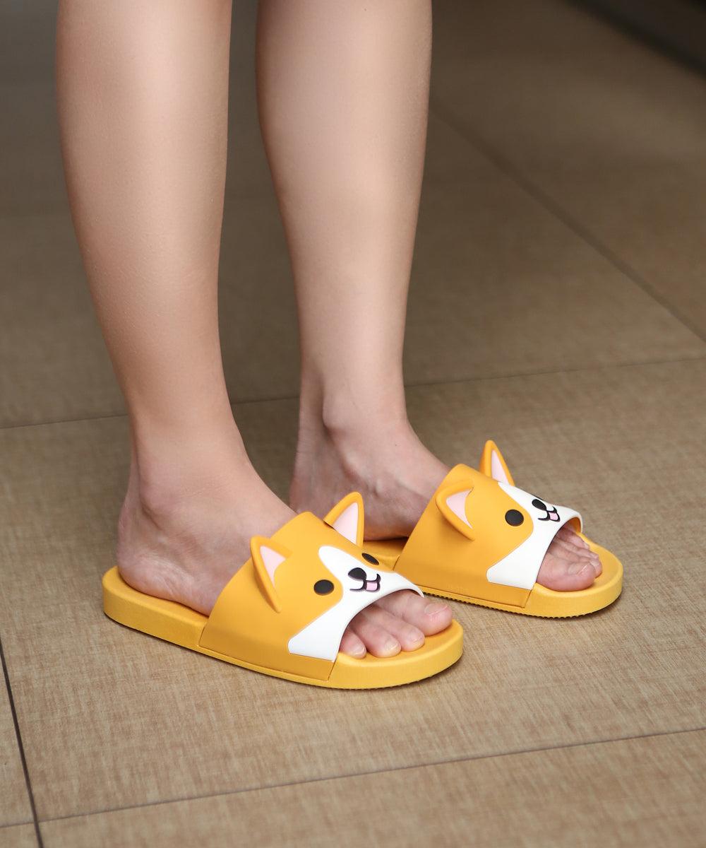 Corgi Rubber Slippers