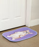 Corgi Puppy Purple Mat