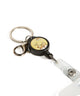 Corgi Cute Cardholder with Badge Reel