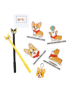 NAYOTHECORGI Smoothie's Office Set