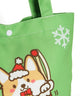 Corgi Colorful Canvas Bag