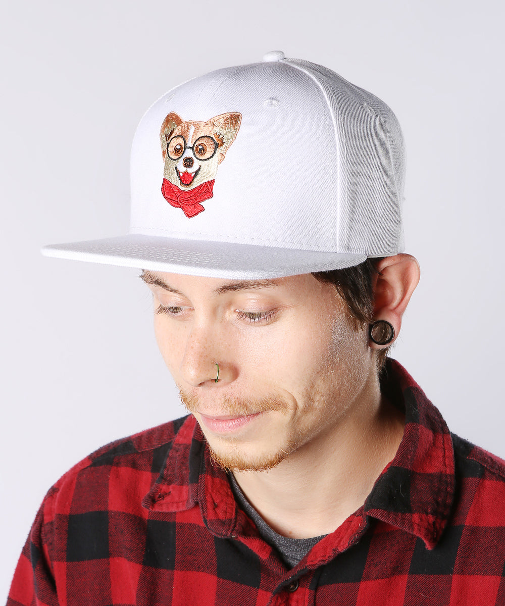 Corgi Embroidered Hat inspired by Nayothecorgi