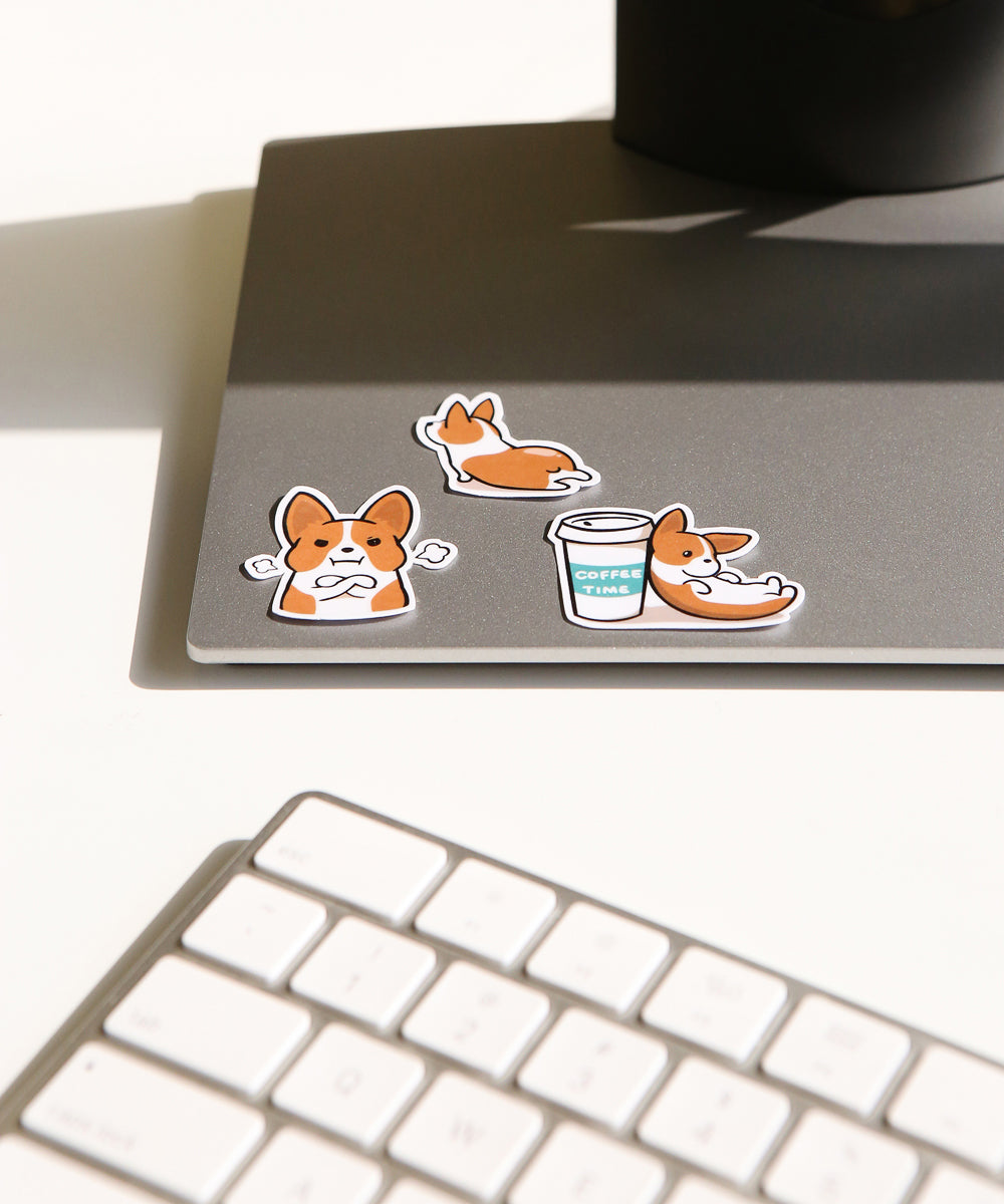 Corgi LINE sticker set 2
