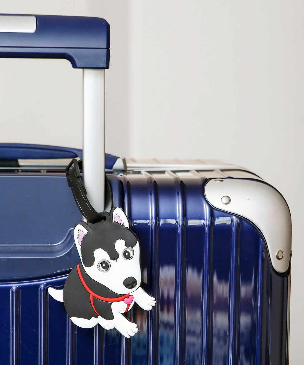 Husky Shape Luggage Tag