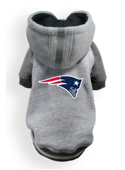 [FOR CORGI] NFL TEAM HOODIE - PATRIOTS BY HipDoggie