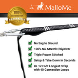 XL Hammock Straps Set of 2 - MalloMe