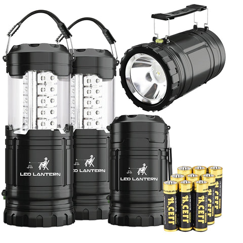 2-IN-1 LED Camping Lantern & Flashlight - MalloMe
