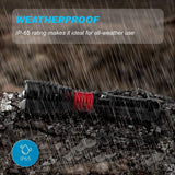 LED Rechargeable Flashlight Torch - MalloMe