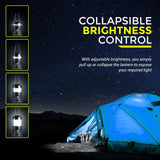 MalloMe LED Camping Lantern Flashlights 4 Pack - MalloMe