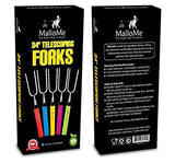 5 Fork Telescoping & Rotating Set - MalloMe
