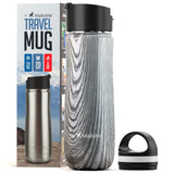 Insulated Stainless Steel Coffee Travel Mug 20 oz - MalloMe