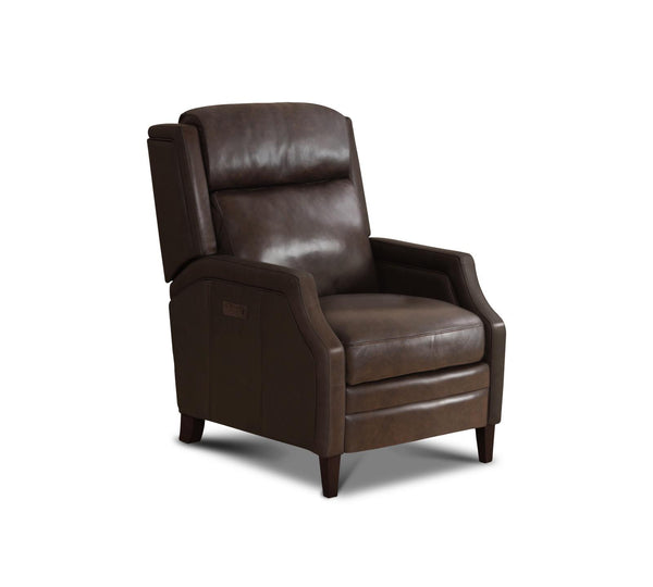 Brisbane Top Grain Leather Power Motion Recliner - Espresso