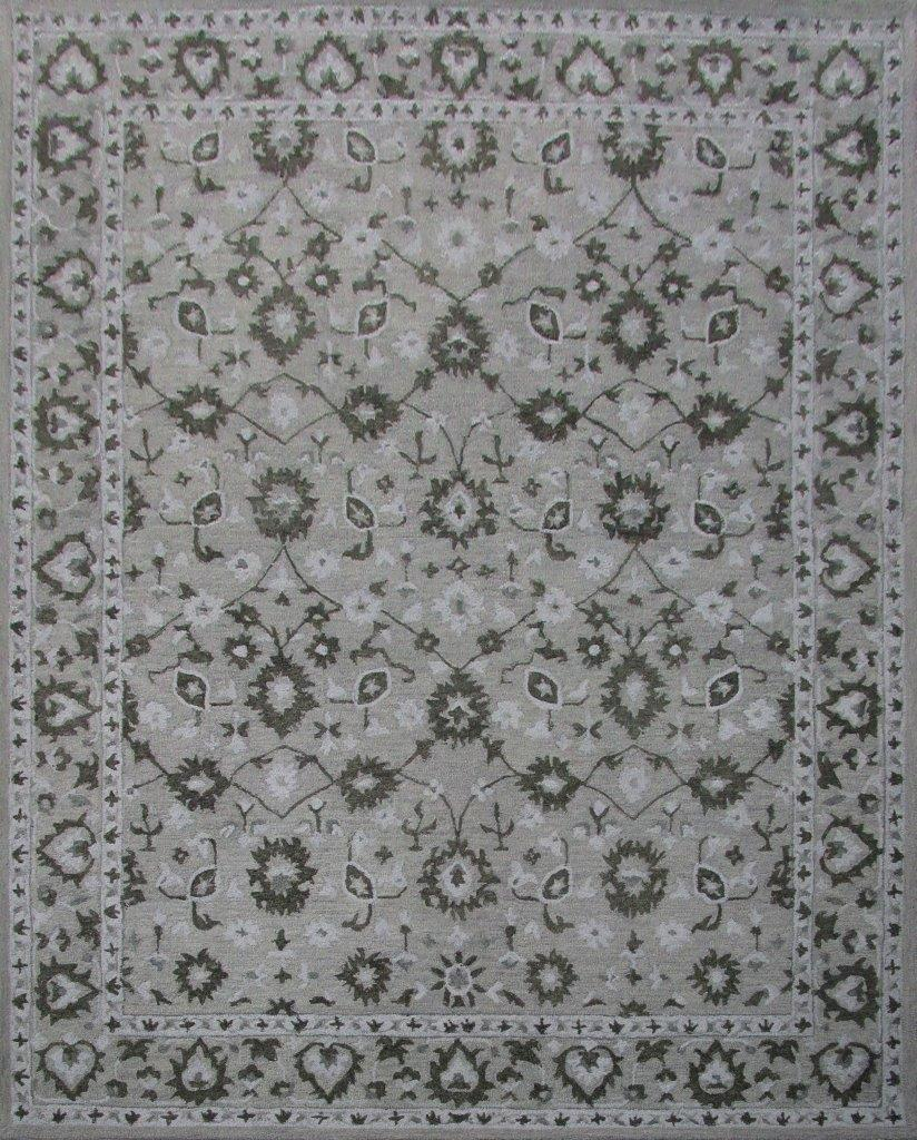 Florence 8 x 10 Wool/Cotton Area Rug