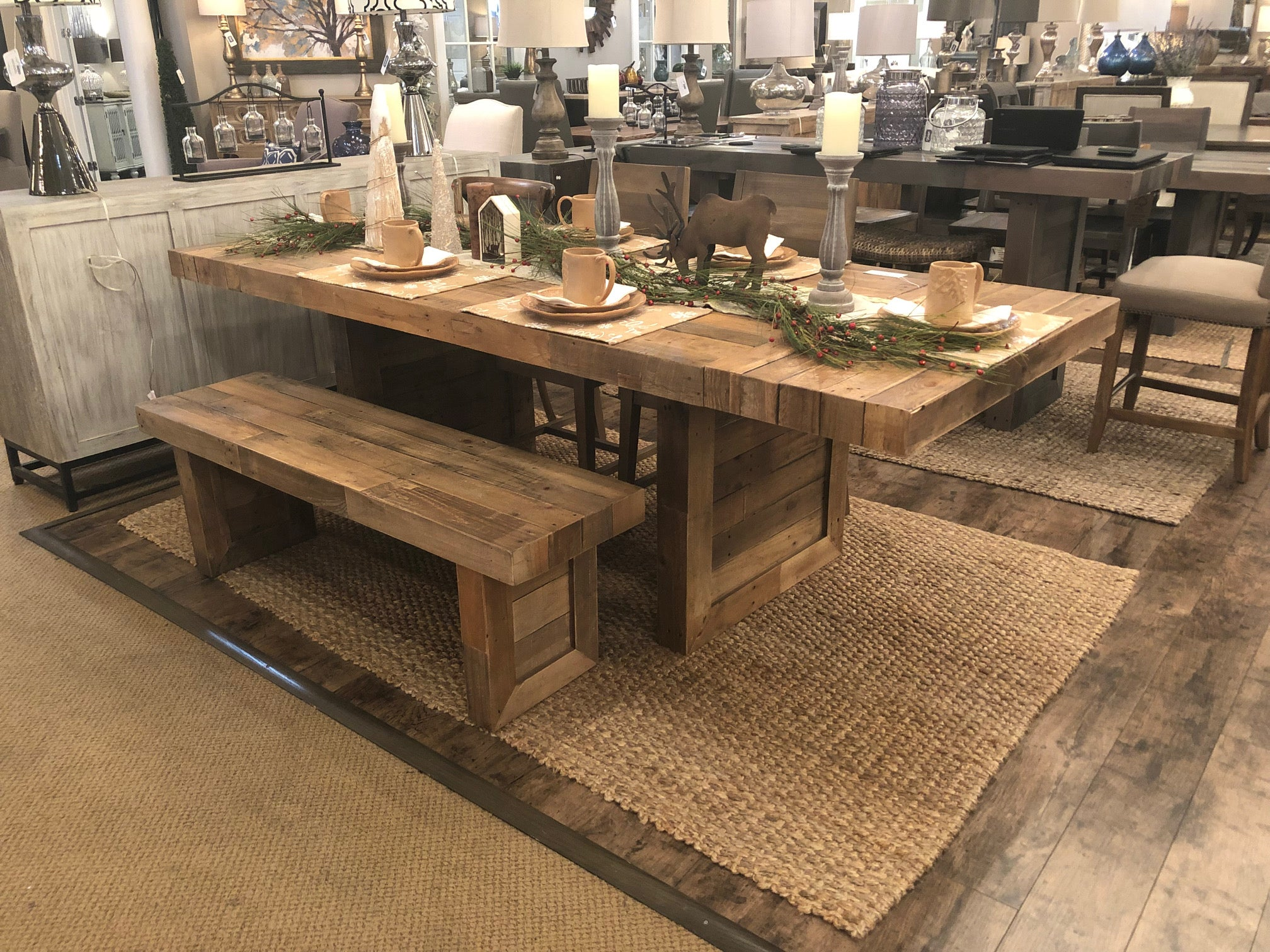 "Timber 95"" Extension Dining Table - Natural"