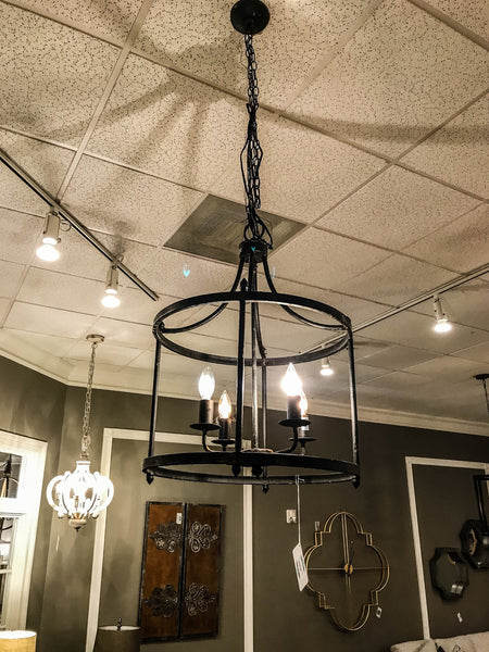 "Abingdon 28"" 4 Light Chandelier"