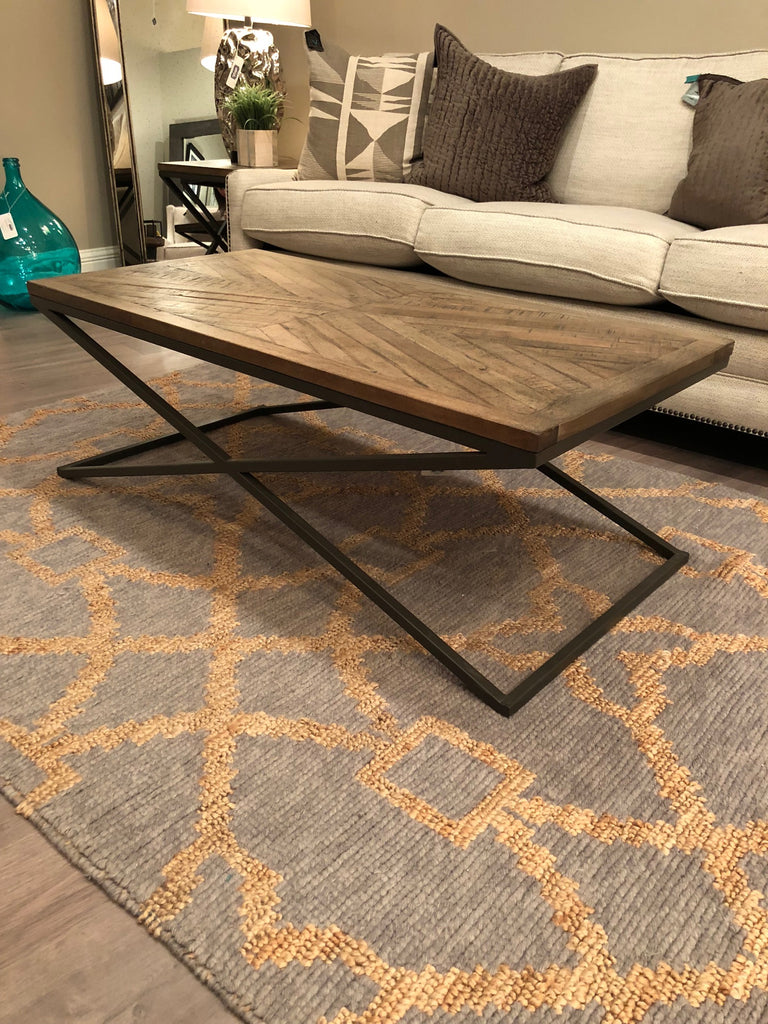 Belmont 47 Quot Coffee Table Revere Diamond Finish Vintage