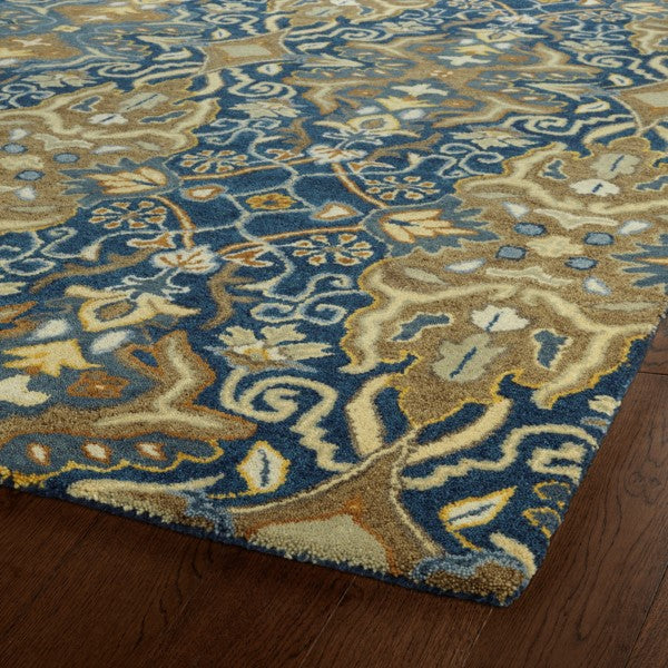 Amaretto Area Rug - Navy