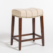 Norman Counter Stool - Striped Canvas