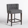 Forsyth Counter Stool-Gravel