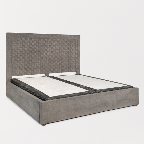 Bjorn King Bed - Coventrey Gray