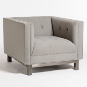 Khalil Occasional Chair - Bisque