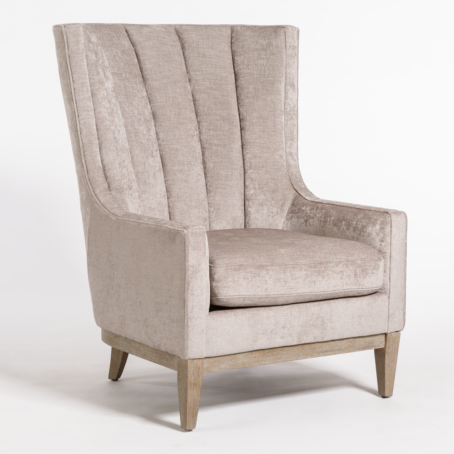 Sherrill Occasional Chair - Mica + Driftwood