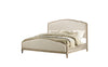 Greenville Upholstered Bed - King - Sandstone