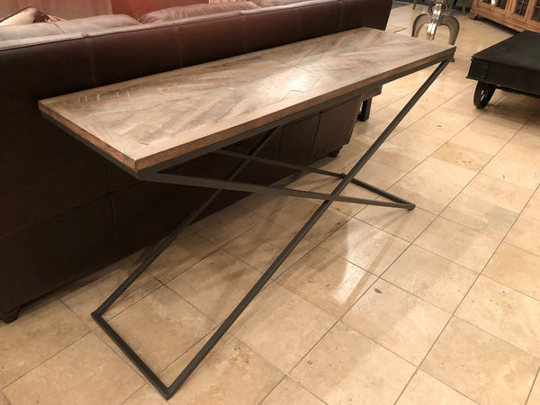 "Belmont 60"" Console Table - Revere Diamond Finish"